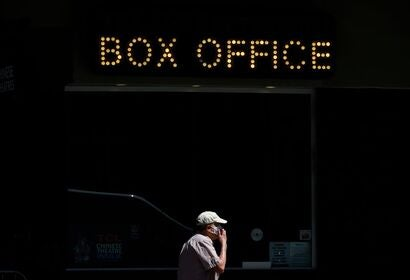 Box Office in Hollywood during the COVID-19 emergency, 2020