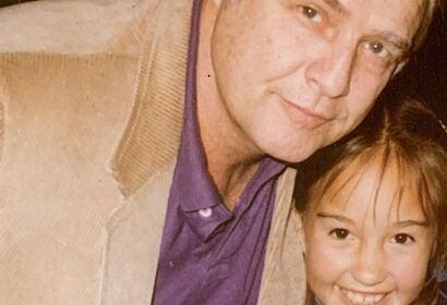 Marlon Brando and daughter Petra