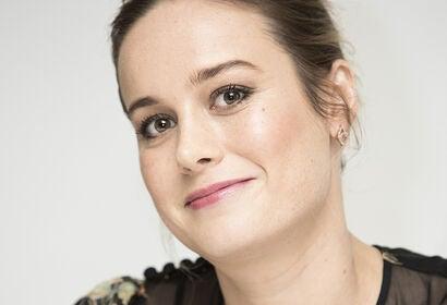Actress Brie Larson, Golden Globe winner