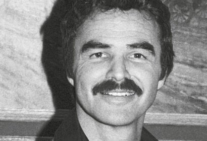 Actor Burt Reynolds, Golden Globe winner