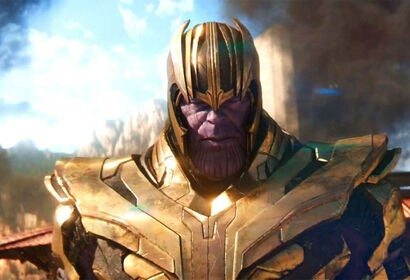 Josh Brolin as Thanos in Avengers Endgame