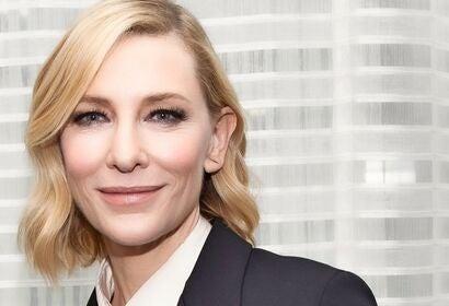 Actress Cate Blanchett, Golden Globe winner