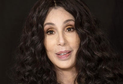 Actress, singer, producer Cher, Golden Globe winner