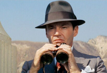 """A scene from """"Chinatown"""", 1974"""