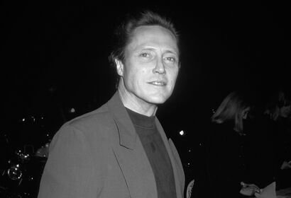 Actor Christopher Walken, Golden Globe nominee