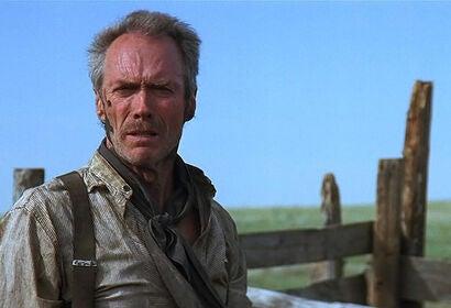 "Clint Eastwood in ""Unforgiven"" (1992)"