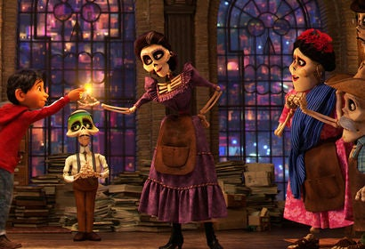 "Scene from ""Coco"""