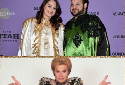 Filmmakers  Constantini and Tabsch, and astrologer Walter Mercado