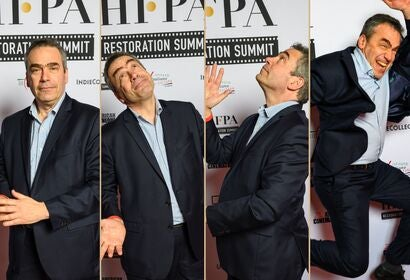 Serge Bromberg at the HFPA Restpration Summit 2020