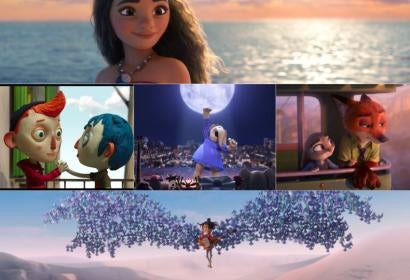 Scenes from the nominees Animation 2017