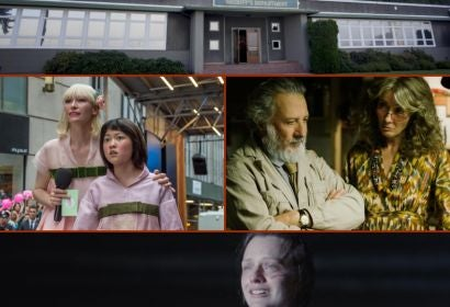 Scenes from Twin peaks, Okja,The Meyerowitz Stories and Top of the Lake:China Girl