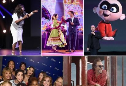 Scenes from D23 2017