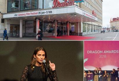 Scenes fromthe 2018 Goterborg Film festival