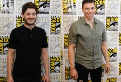 Acfors Iwan Rgeon and Anson Mount at Comic-Con 2017