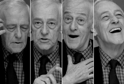 Actor John Mahoney, Golden Globe nominee