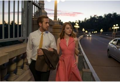 Scenes from La La Land, Moonlight