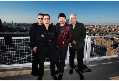 U2, Golden Globe winners