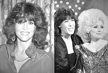 Jane Fonda, Lily Tomlin and Dolly Parton