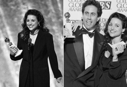 Julia Louis-Dreyfuss and Jerry Seinfeld, 1994