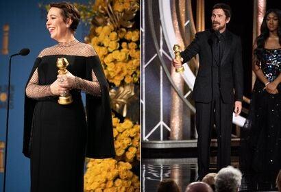 Olivia Colman, Christian Bale