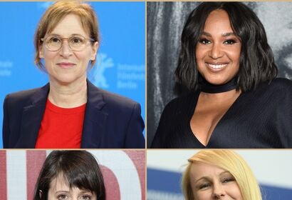 Collage of women directors in 2020