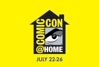 Logo Comic-Con at home, 2020
