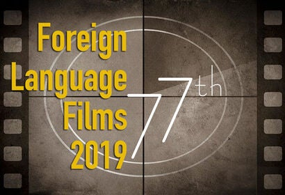 Foreign Language Films 2019 77th Golden Globe submissions