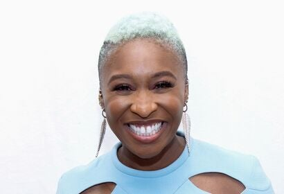 Actress, singer and composer Cynthia Erivo, Golden Globe nominee