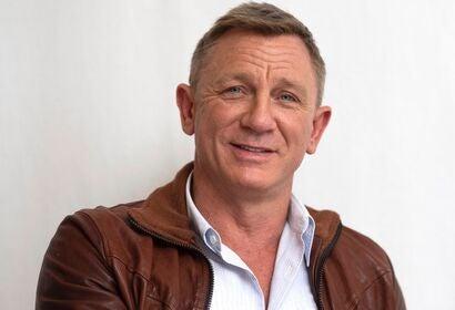 Actor Daniel Craig, Golden Globe nominee