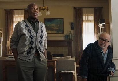 "Danny DeVito and Danny Glover in ""Jumanji: The Next Level"" (2019)"