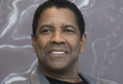 Denzel Washington at 41st TIFF for showing of The Magnificent Seven