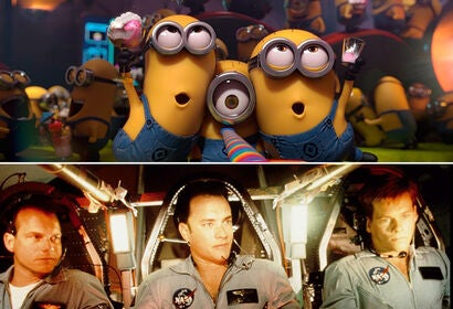 """Despicable Me 2"" (2013)/Kevin Bacon, Tom Hanks, and Bill Paxton in ""Apollo 13"" (1995)"