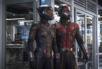 "A scene from ""Ant- Man and The Wasp"""