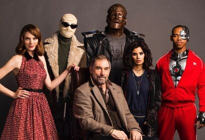 The cast of Doom Patrol, HBO series, 2020