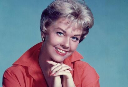 Singer and actress Doris Day