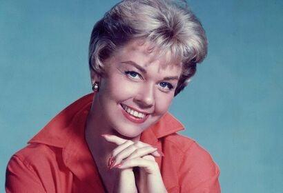 Singer and actress Doris Day