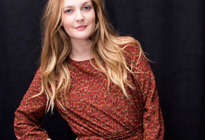 Actress, director and producer Drew Barrymore, Golden Globe winner
