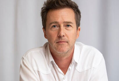 Actor , director Edward Norton, Golden Globe winner