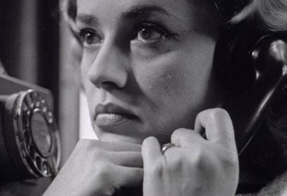 "Jeanne Moreau in a scene from ""Elevator to the Gallows"""
