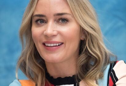 Actress Emily Blunt, Golden Globe winner