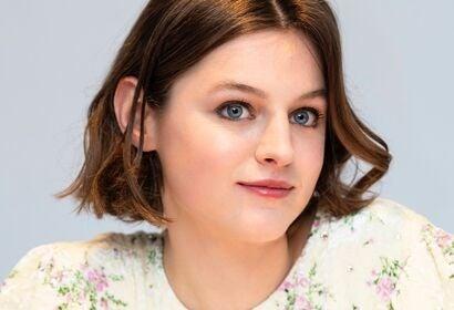 Actress Emma Corrin