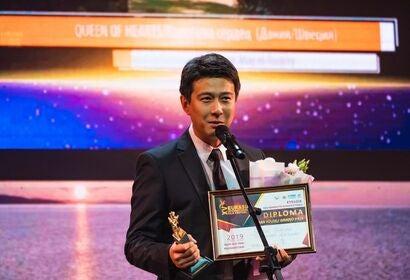 farkhat_sharipov_winner_of_grand_prix_for_feature_film at the Eurasia Film festival 2019