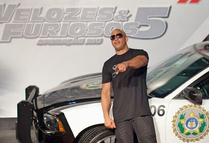 Premiere Fast and Furious 5 in Rio de Janeiro, Brazil, 2011