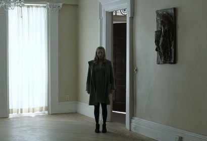 "Amanda Seyfried in the movie ""First Reformed"""