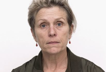 Actress Frances McDormand