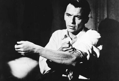 "Frank Sinatra in ""The Man with the Golden Arm"" (1955)"
