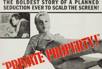 Postrer for noir thrilelr Private Property