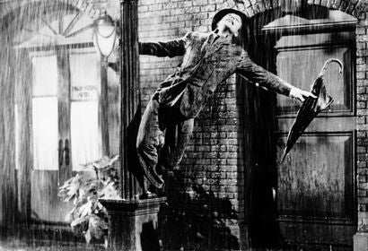"A scene from ""Singin' in the Rain"", 1952"