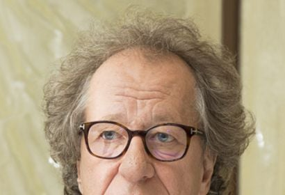 Actor Geoffrey Rush, Golden Globe winner