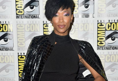 Actress Sonequa Martin-Green